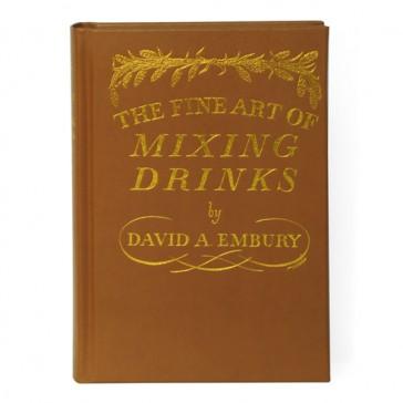 The Fine Art of Mixing Drinks - Edizione rilegata in pelle