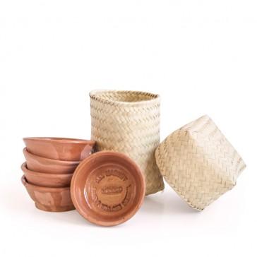Del Maguey Copita - 6 pezze un cesto in foglie di palma