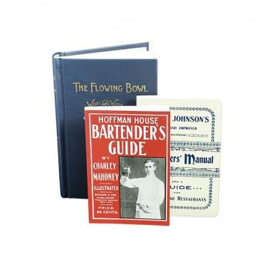 Collezione di libri sul Pre-Proibizionismo Cocktail Kingdom®