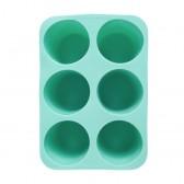 Vaschetta per il ghiaccio di forma cilindrica